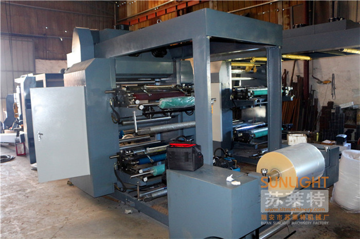 Computerized Automatic Uv 4 3 2color Aluminum Foil Paper Roll ...