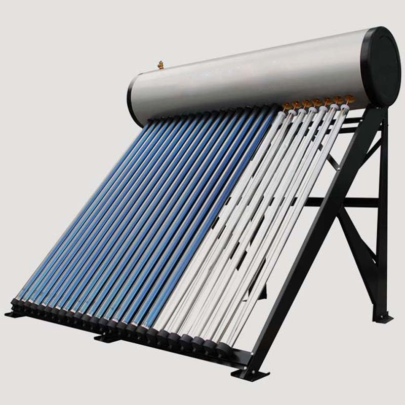 Solar water heater for home hand operated grease gun