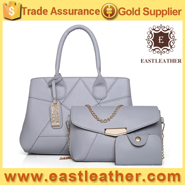 E2343 Latest design Alibaba fashion lady bags 6 pieces women handbags set with wholesale price