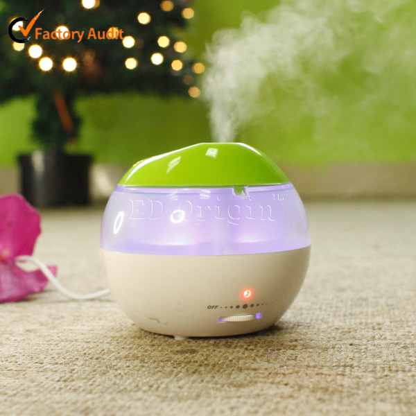perfume machine / led light electric ultrasonic mist aroma diffuser / led light humidifier