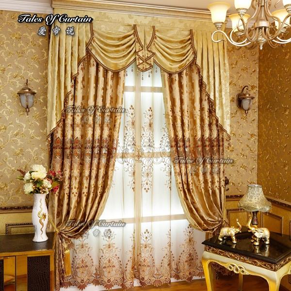 Organza bordada cortina de atacado compre os melhores for Cortinas de castorama pura
