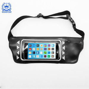 Fashion USB rechargeable adjustable noctilucent led armband for mobile