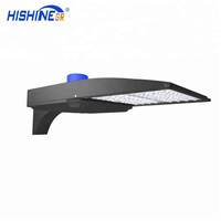 High Power175LM/W 150W LED Shoebox Street Lighting Round Pole Light Parking Lot Light from Shenzhen China