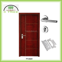 Mahogany Sapeli Ash White oak Cherry Black walnut etc solid wood veneer doors