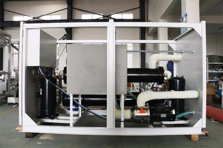 China Professionele Vervaardiging Nieuwe Technologie 2 ton luchtgekoelde water chiller