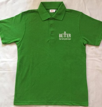 Embroidered Polo T Shirt Customized Logo Cotton Polyester Green Germany Polo shirts