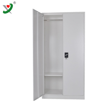Workshop used steel closeing cupboard storage wardrobe cabinet with 2 door