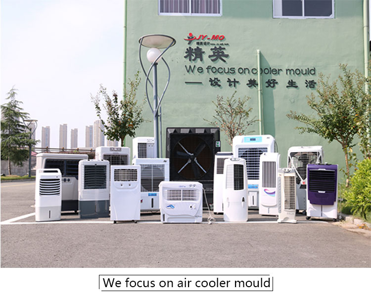 the plastic air cooler mold of ventilator for export