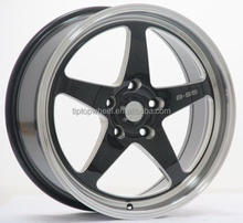 XXR matt grey bronze gold colour wire car wheels 16 17 18 19 inch deep lip concave matt black machined face llantas rines
