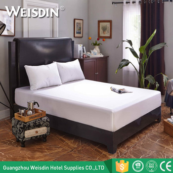 Manufacturers In China Bedding Sheets Hotel King Size Cotton Elastic Fitted  Bed Sheet