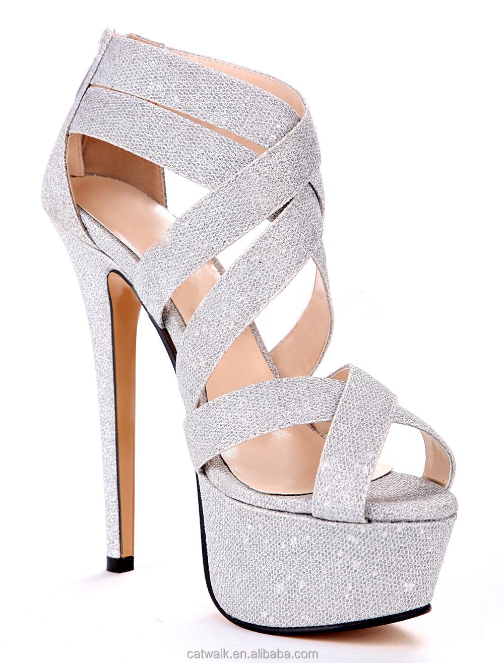 Sexy Silver Heels | Tsaa Heel