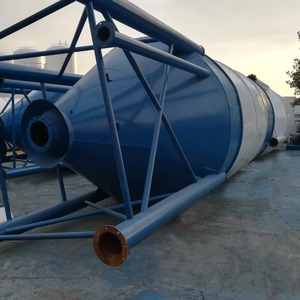 Widely Used Epoxy Steel 100Ton 120 Ton 200 Ton 100 Ton Cement Fly Ash Silo