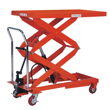 1000kg manual hydraulic scissor lift platform table