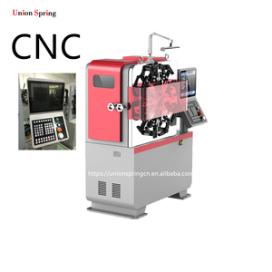 Hot sales spring former machinery 0.2-2.5mm wire diameter CNC spring forming machine
