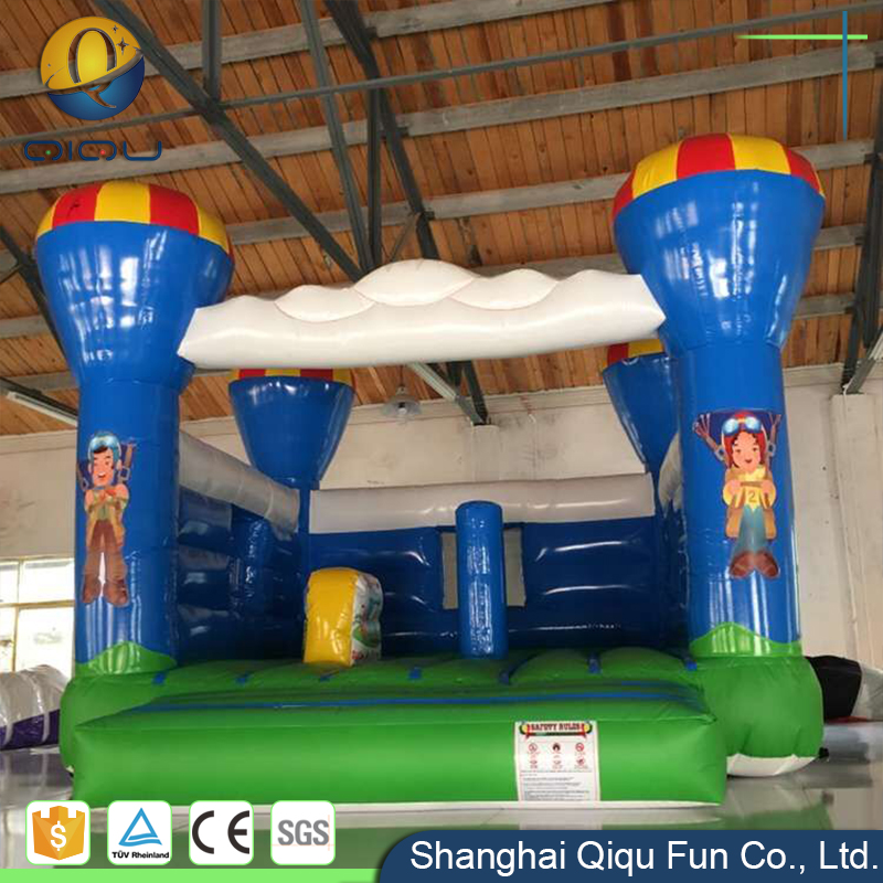Customized nice princess inflatable bouncer castle/ kids inflatable bounce bed for jumping bouncer