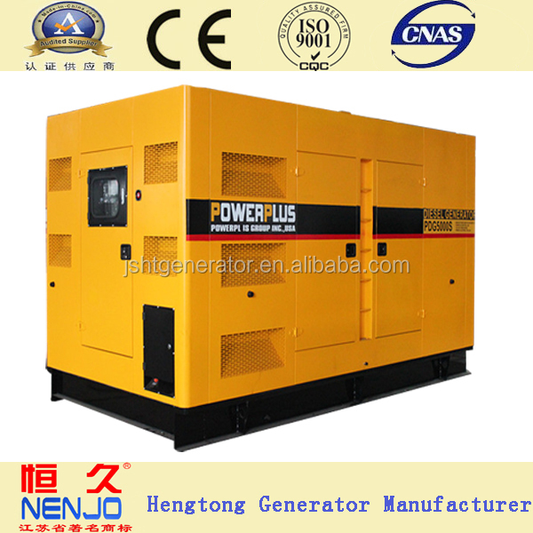 shangchai 120kw CE approved diesel generator set 150kva with soundproof canopy