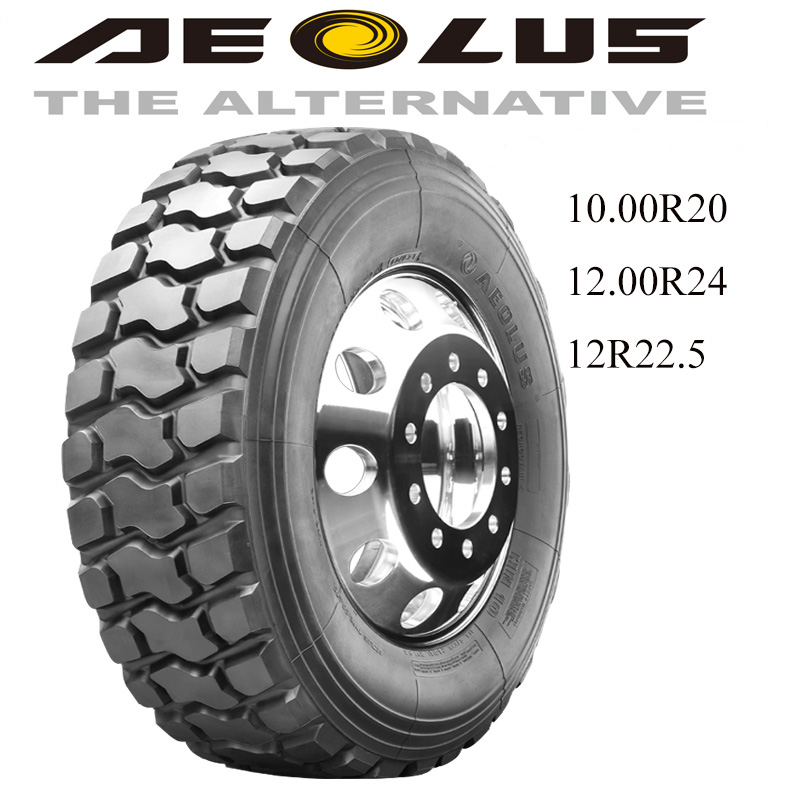 Aeolus best Chinese brand off road low price 295/75r22.5 1000-20 truck tire