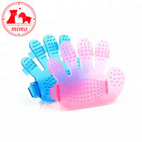 Summer Pet Dog Cat Hair Grooming Shower Bath Tool Massage Brush Comb Five Finger Pet Hair Cleaning Remove Glove Brushes Tool