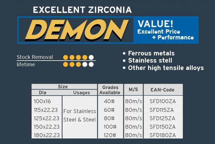 T29 flap disc met uitstekende prestaties in polijsten