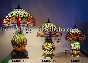 stained glass (TLS005-series lamps)