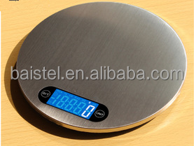 5kg/1g stainless steel electronic kitchen scale/kitchen weighing scale