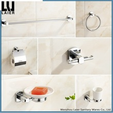 China Supplier Modern Bath Hardware Sets Brass Finishing Wall-Mounted Bathroom Accessories Set