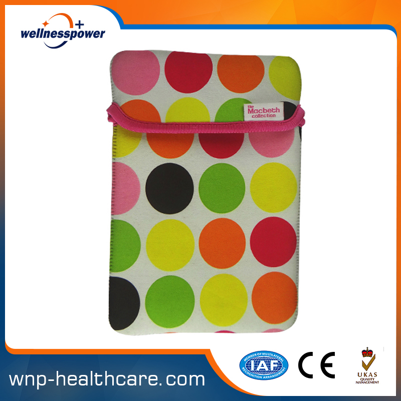 Fashion neoprene computer bag laptop with handle