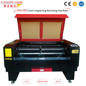 searching for distributors YUEHONG LASER 1390 1300x900mm 4x3feet laser cutting machine 150w price for sale