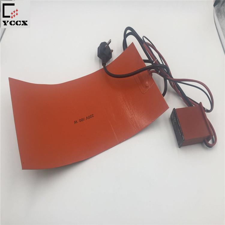 Silicone Rubber Heater Electric Industrial Heating Pads