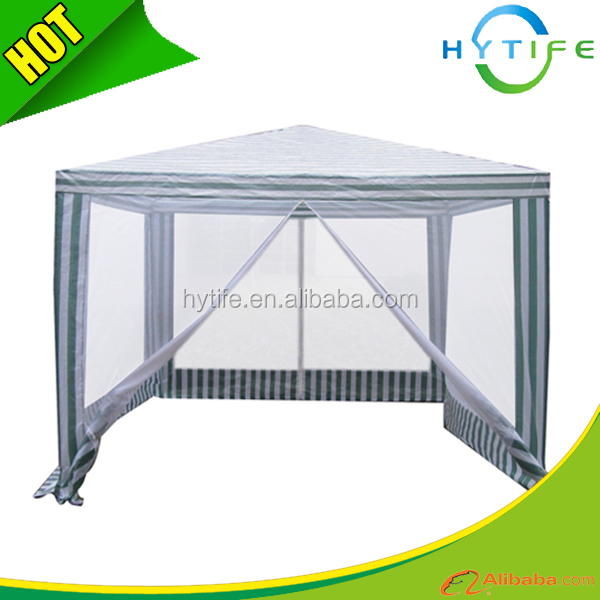 3x3m Netting steel gazebos for sale