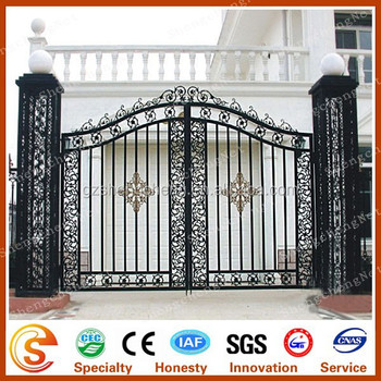 Modern Metal Garden Gates Wrought Iron Main Gates