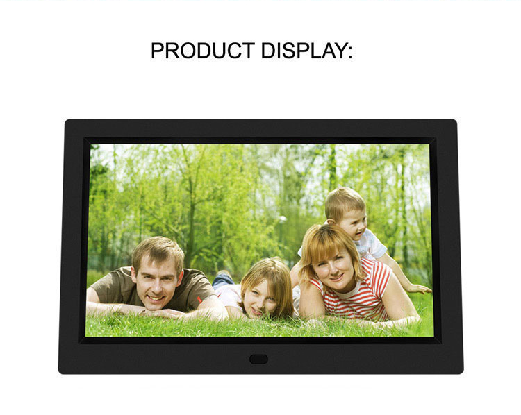 Video picture audio loop play 8 inch electronic digital photo frame