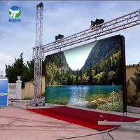 VIP 9 years Supplier Shanghai Full Color P10 outdoor led display