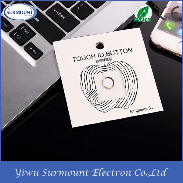 Iphone 6 Home Button Design Part - 44: Hot Promotional Products Metal Home Button Sticker For IPhone 6 Touch ID  Button For IPhone 6