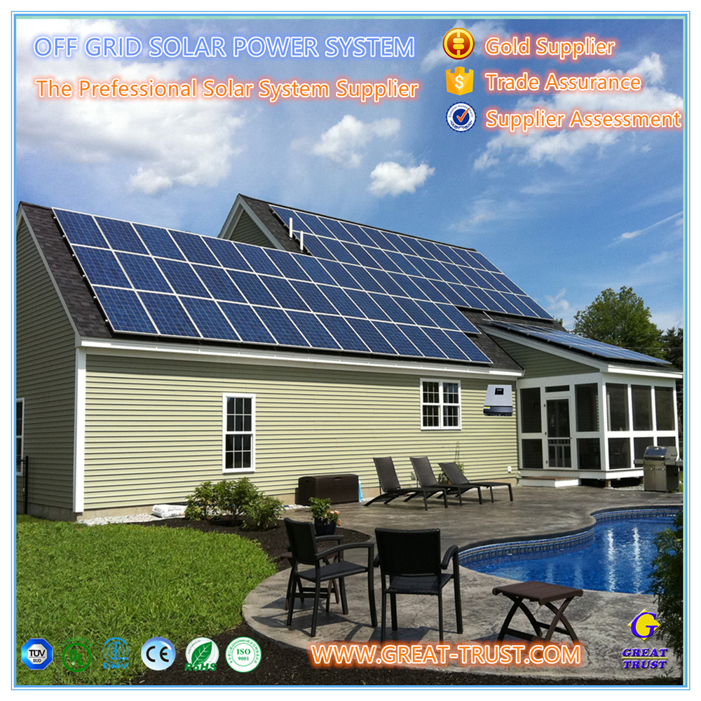 Brand new 1kw,2kw,3kw,5kw,10kw,50kw,100kw,500kw 5kw off grid solar fencing systems with high quality