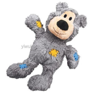 Durable Plush Knot Teddy Bear Dog Chew Toys KA1708