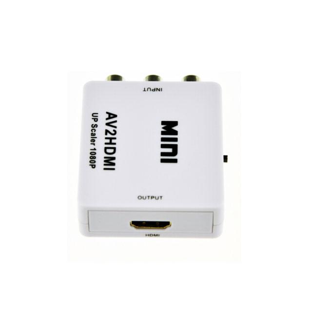 RCA AV to HDMI Converter Adapter Composite AV2HDMI Converter 1080P HDTV DVD