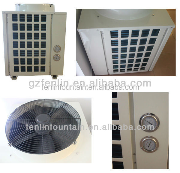 Swimming Pool Heat Pump, air water heat pump titanium pool heat exchanger