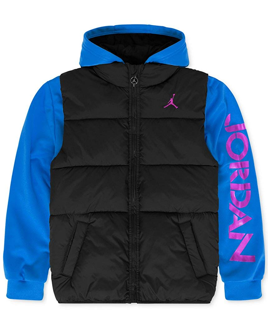 35b255b054e4 Jordan Boys  Classic 2-Fer Jacket