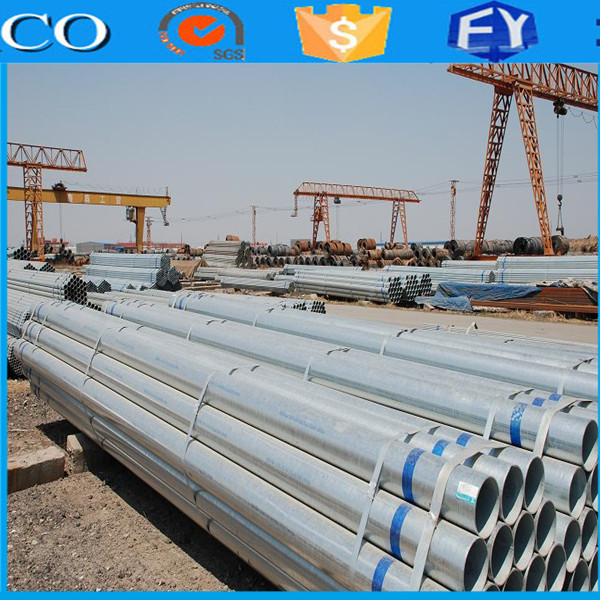 FACO Steel Group stainless steel exhaust perforated tube on sale hot!!! galvanized steel tube livestock corral pan