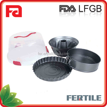 FT2458 Nonstick 5-Pcs Bakeware सेट