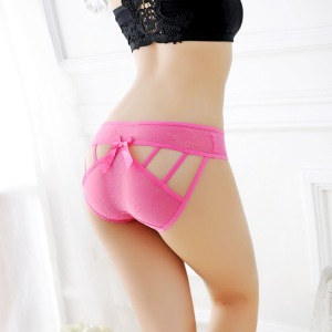 rose lace lace-up undies female sexy undergarments
