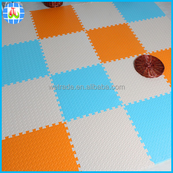 25mm thick interlocking babies play mat foam for kindergarten