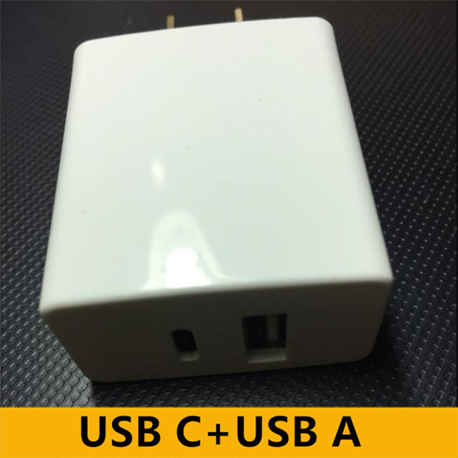 Premium PCB UL Certified 5V 2A Multiport USB Type C And Micro USB Type A Charger Adapter for LG G4
