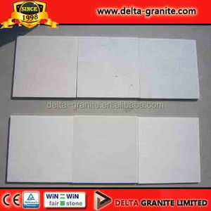 Free samples accepted white marble slabs