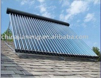 pressure solar water heater and solar collector