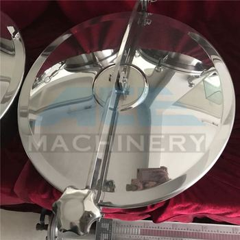 ACE Hygienic Stainless Steel Circular Pressure Manhole Covers Manways With Stainless Steel Four Handles