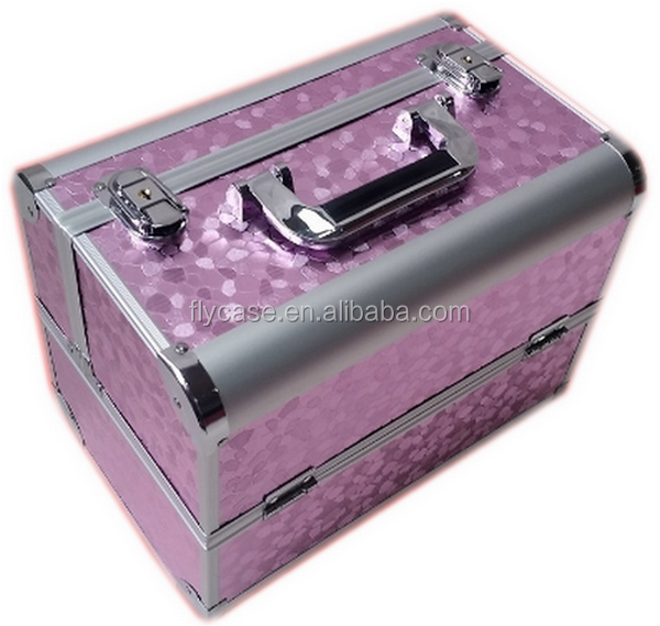 2017 new portable aluminum sample storage case aluminum makeup case for cosmetic - made in China