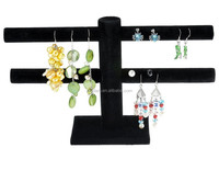 Wholesales 2 Tier T-bar Earring Display Stand Jewelry Display Holder