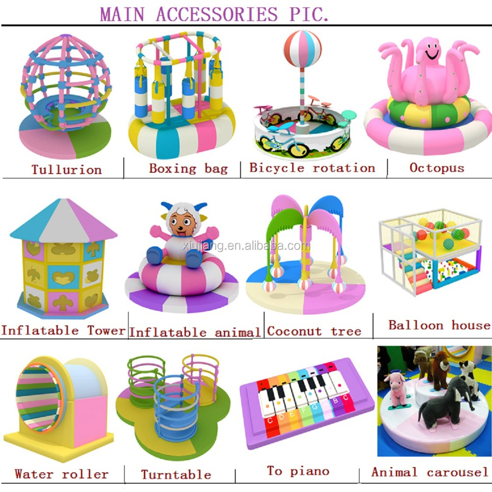 Attractive Children Commercial Interior Playground Indoor